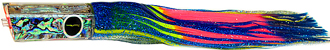 Kona Classic Tube Blue-Yellow Stripe/Rainbow