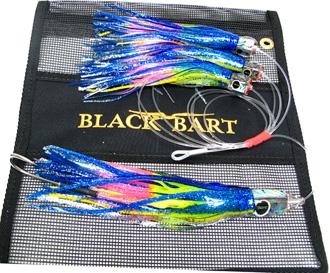 Black Bart Tuna Candy Chain Blue-Yellow/Rainbow